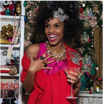 black-woman-holiday-party-